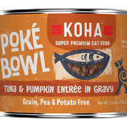 KOHA Poke Bowl Tuna & Pumpkin for Cats 5.5oz Can