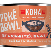 KOHA Poke Bowl Tuna & Salmon for Cats 5.5oz Can
