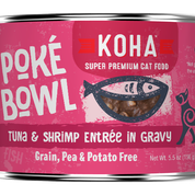 KOHA Poke Bowl Tuna & Shrimp for Cats 5.5oz Can