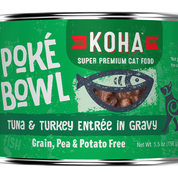 KOHA Poke Bowl Tuna & Turkey for Cats 5.5oz Can