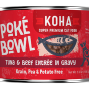 KOHA Poke Bowl Tuna & Beef for Cats 5.5oz Can