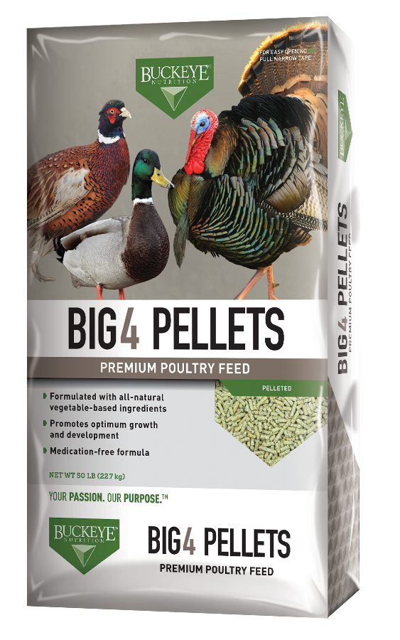 "BUCKEYE™Nutrition 20% Big ""4"" Pelleted 50lbs"