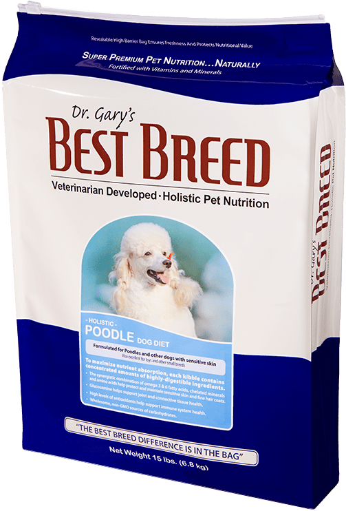 Dr. Gary's Best Breed Poodle Dog Diet 4lbs
