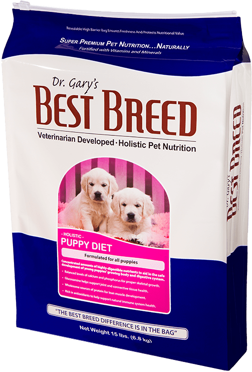 Dr. Gary's Best Breed Puppy Dog Diet 4lbs
