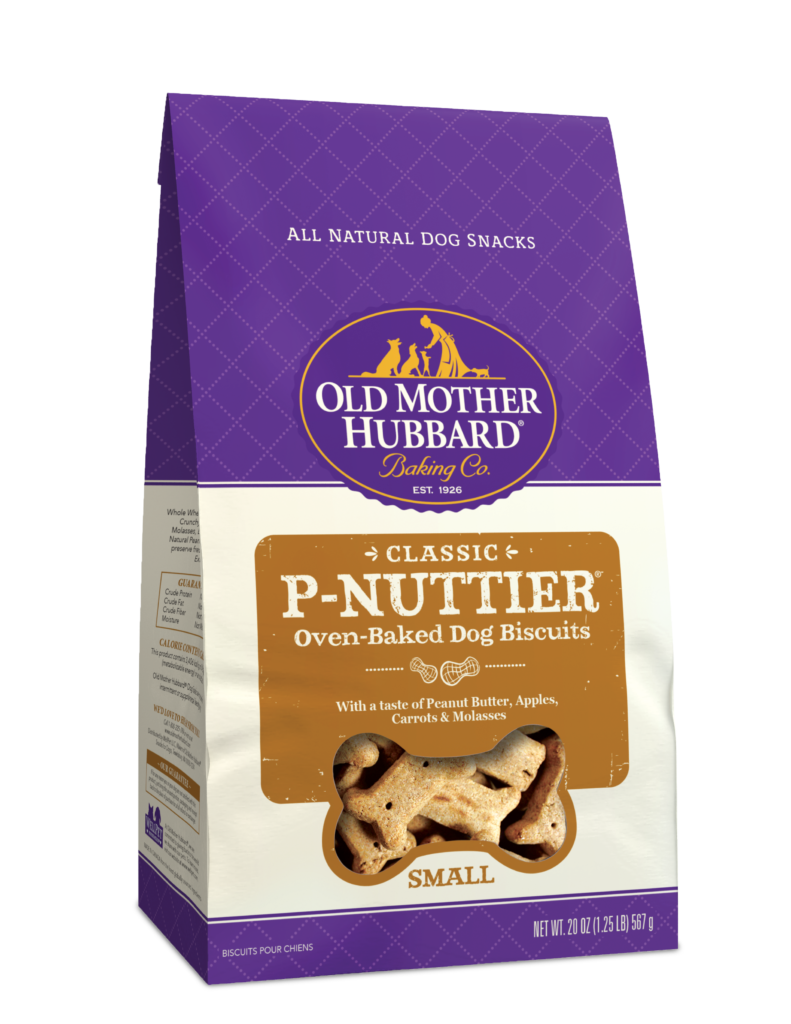 Old Mother Hubbard P-Nuttier Oven-Baked Dog Biscuit Treats