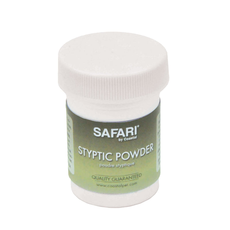 Safari Pet Stypic Powder .5oz bottle
