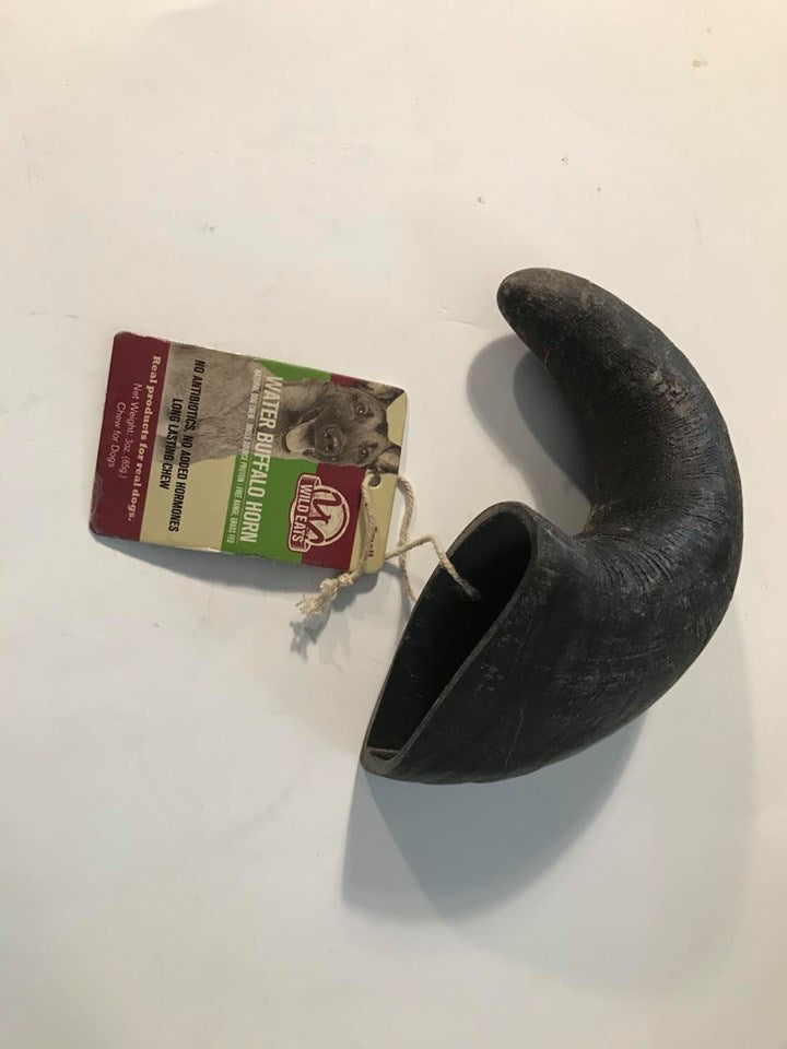 Aussie Naturals Water Buffalo Bully Horn Small