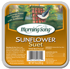 Morning Song Sunflower Suet