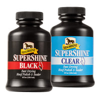 Super Shine Black Hoof Polish & Sealer 8oz No Tip Bottle