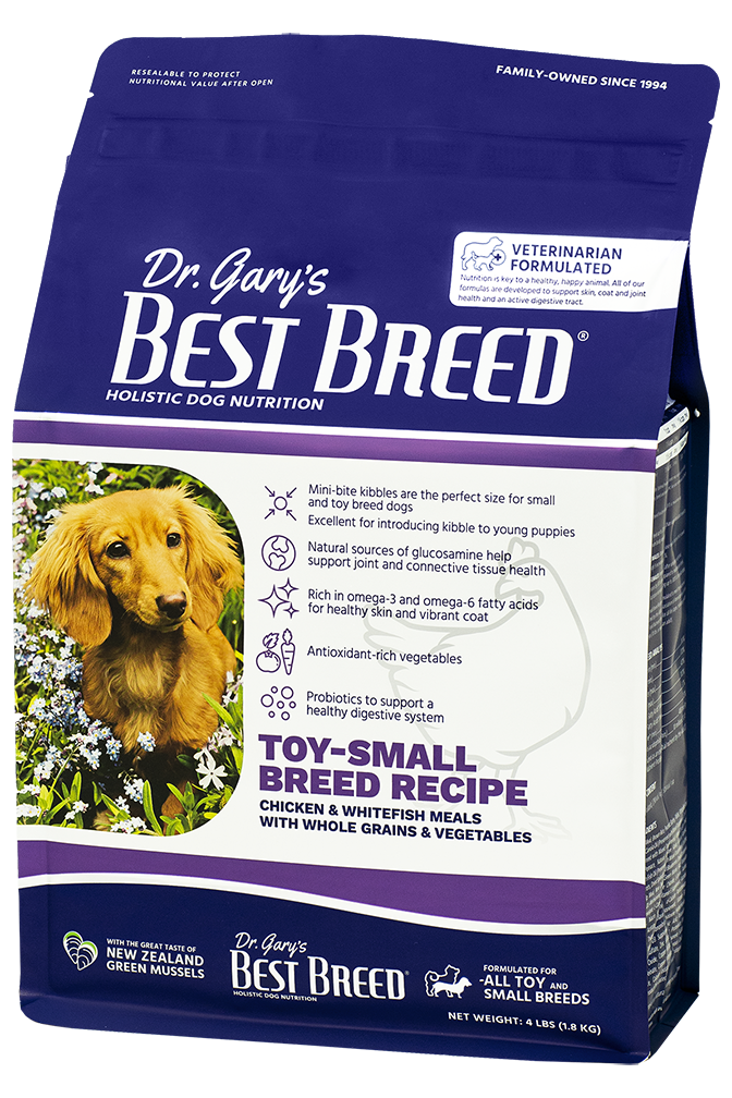 Best Breed Toy-Small Breed Recipe 4lbs