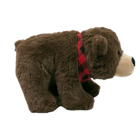 Tall Tails 9in Bear Squeaker Toy Christmas