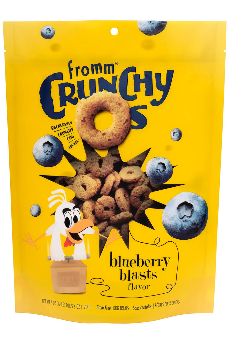 Fromm Four Star Crunchy O's Blueberry Blasts Dog Treats