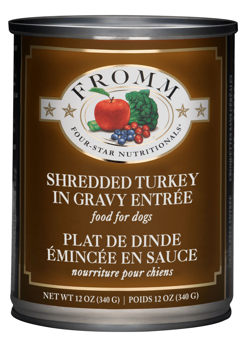 Fromm Family Four Star Shredded Turkey Entree Canned Dog Food