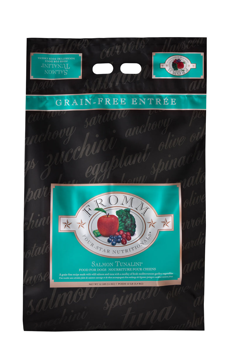 Fromm Family Four Star Salmon Tunalini Dog Food 4lbs