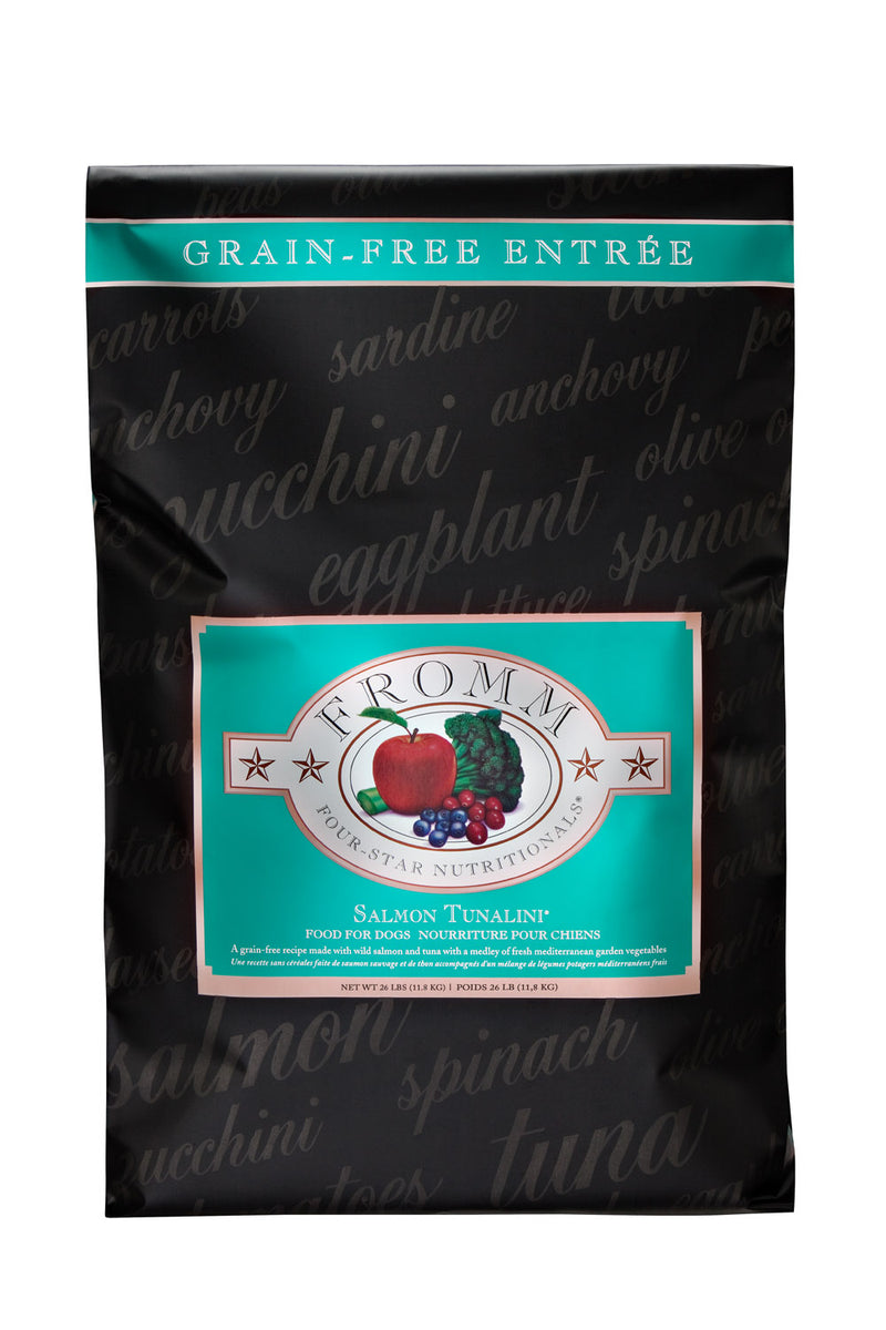 Fromm Family Four Star Salmon Tunalini Dog Food