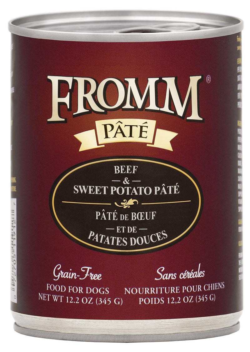 Fromm Family Gold Beef & Sweet Potato Dog Canned Food
