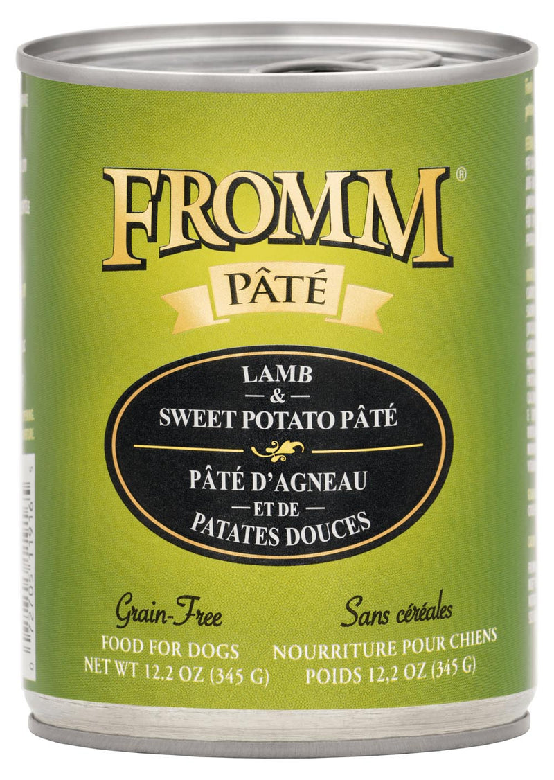 Fromm Family Gold Lamb & Sweet Potato Pate Canned Dog Food