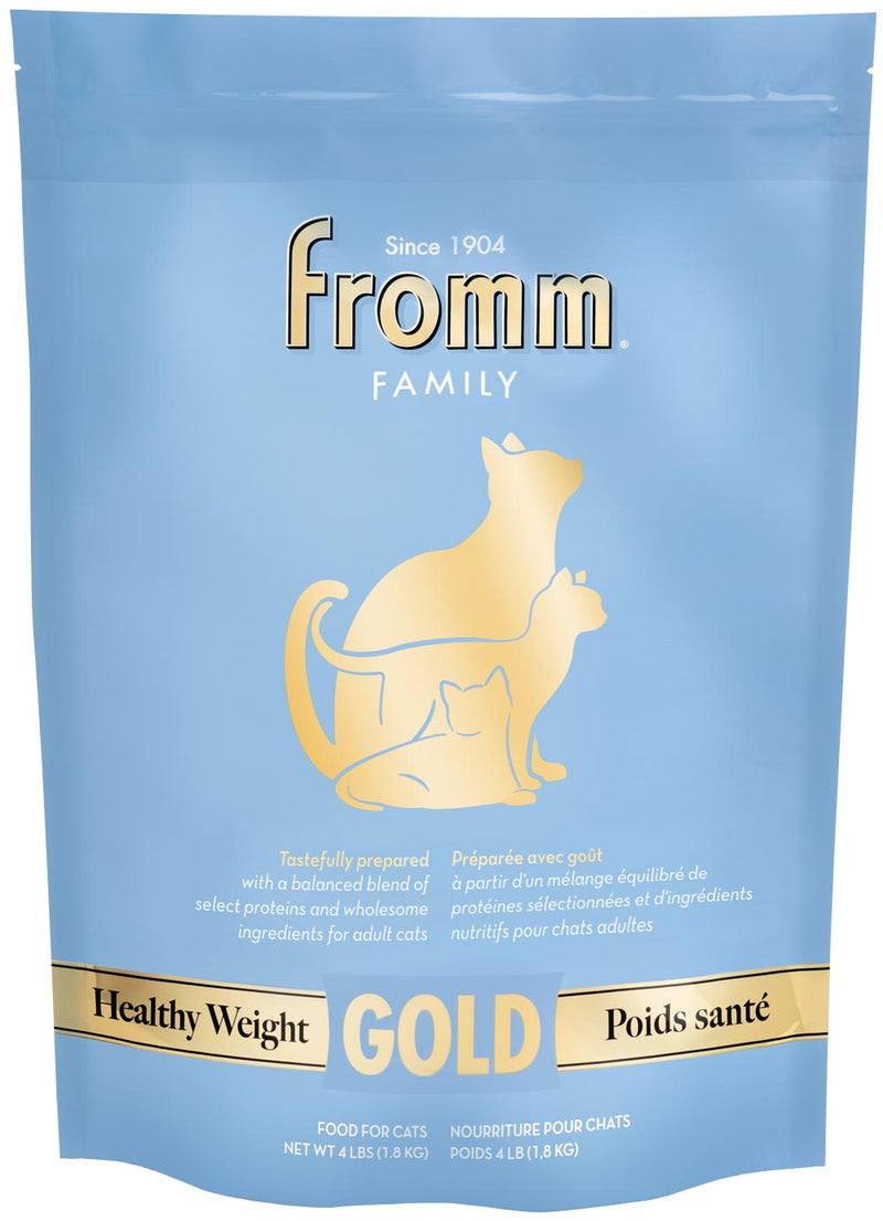 Fromm Gold Healthy Weight Cat Food 4lbs
