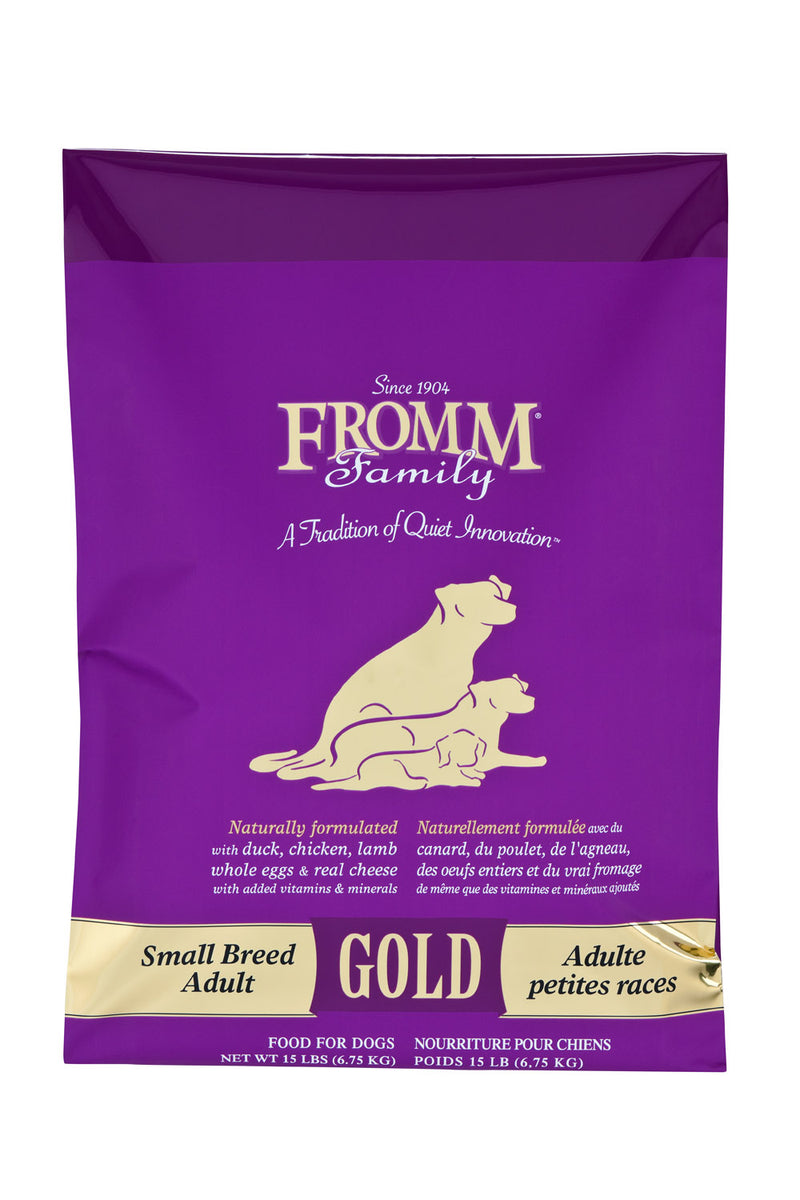 Fromm Family Gold Small Breed Adult Dog Food 5lbs