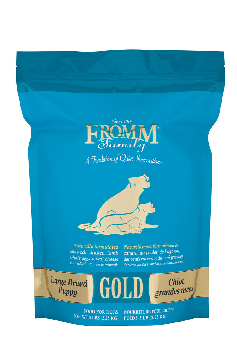 Fromm Family Gold Large Breed Puppy Dog Food 15lbs