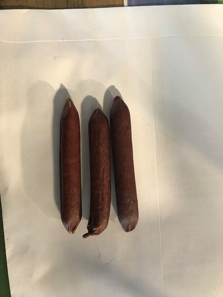 "Happy Howie's 4"" Lamb Sausage Sticks Dog Treats- 1 stick"