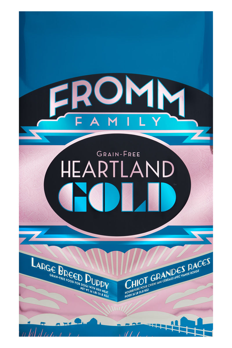 Fromm Heartland Gold Grain Free Large Breed Puppy Dog Food 26lbs