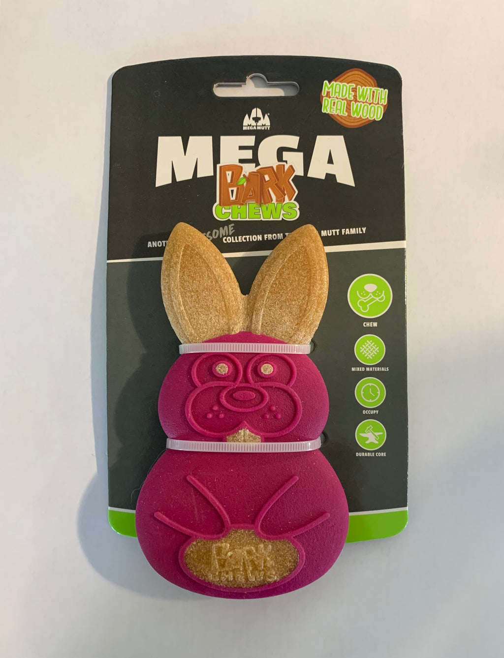 Mega Mutt Rabbit Bark Chew
