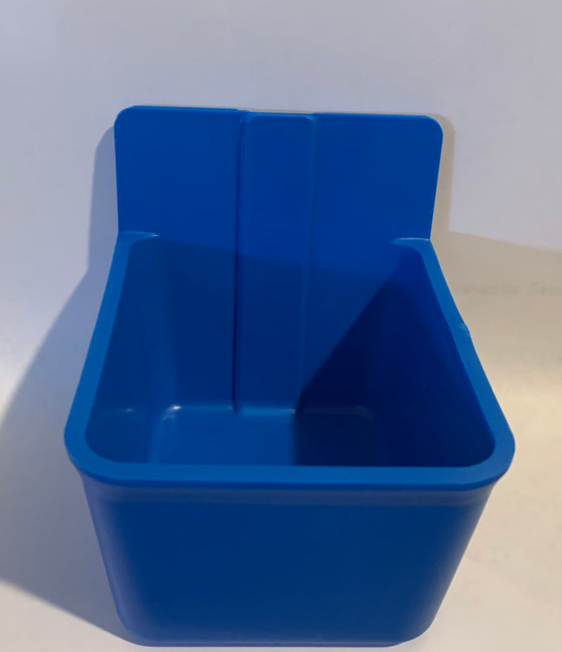 Coop Cup-Easy Snap Square Blue