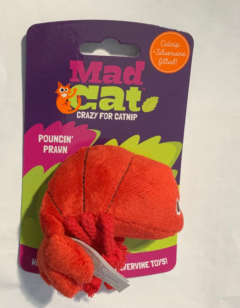 Mad Cats Pouncin' Prawn Crazy for Catnip