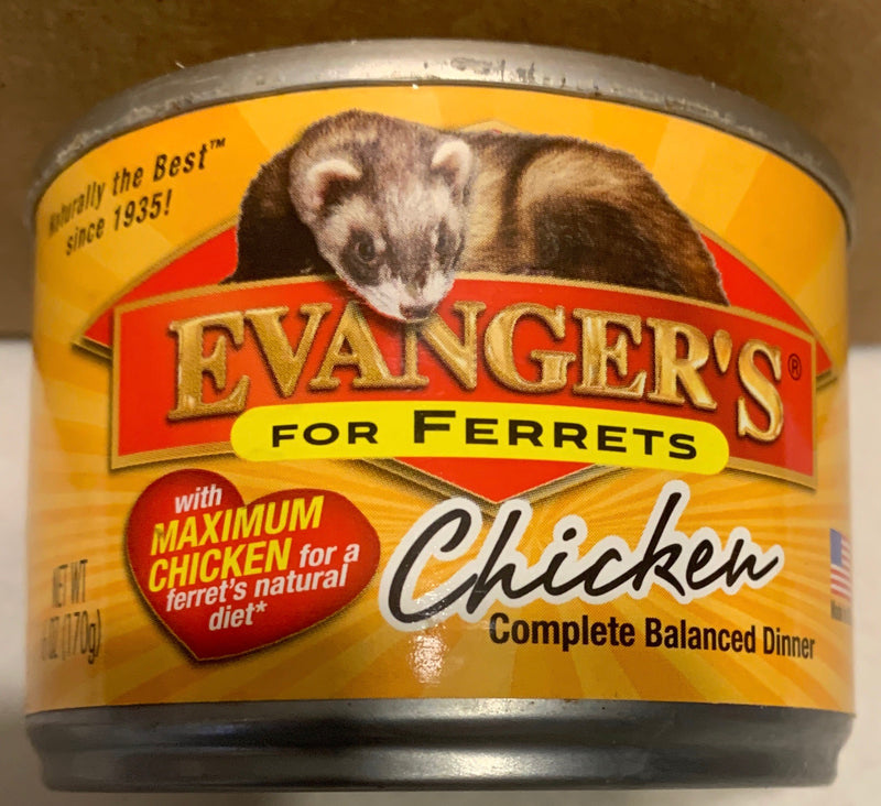 Evanger's Maximum Chicken for Ferrets Canned Food