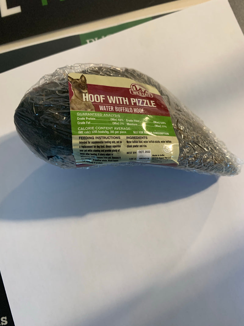 Aussie Naturals Water Buffalo Hoof w/ Pizzle