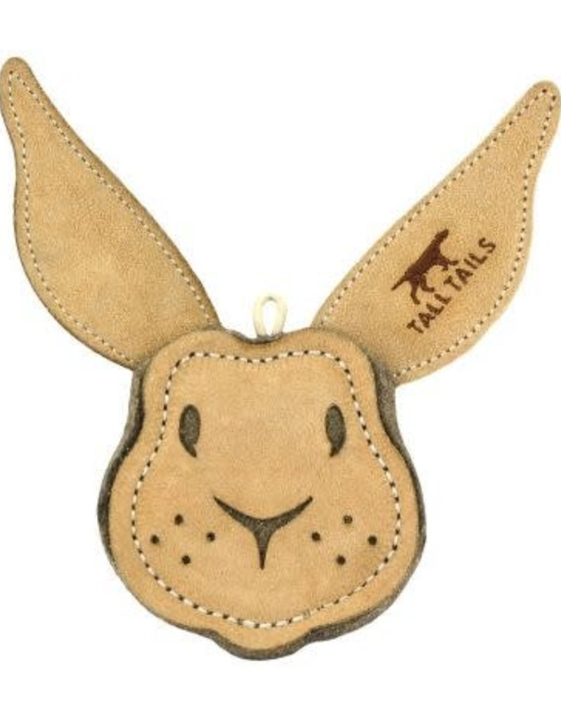 Tall Tails Natural Leather Rabbit Toy