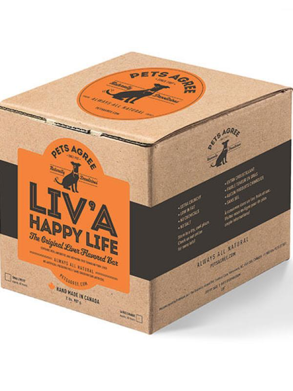 Granville Island Pets Agree Liv 'A Happy Life 2lb box