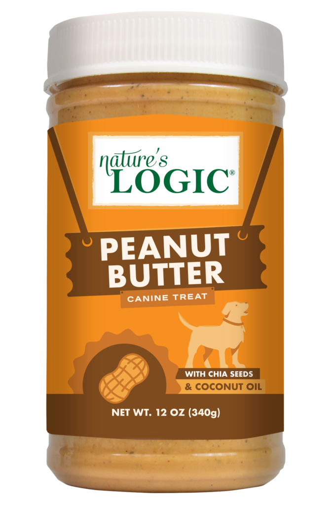 Nature's Logic 12oz Peanut Butter Treat Jar