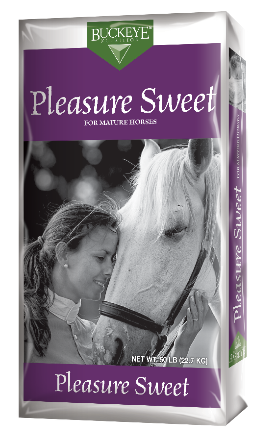 Buckeye Pleasure Sweet Textured Feed