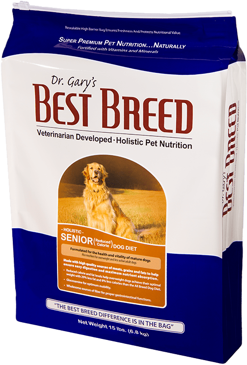 Dr. Gary's Best Breed Senior Dog Diet