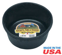 Rubber Feed Pan - 2qt