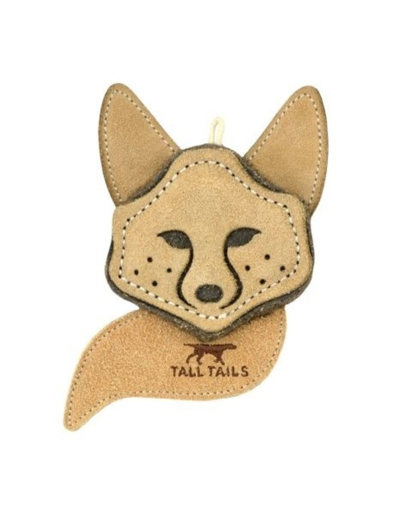 Tall Tales Natural Leather Fox Toy