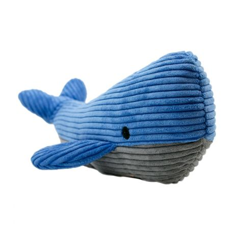 Tall Tails 14in Plush Whale with Squeaker Toy