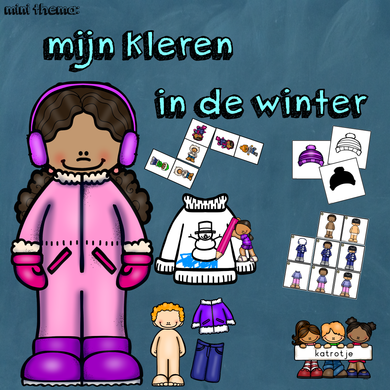 mini thema: mijn kleren in de winter
