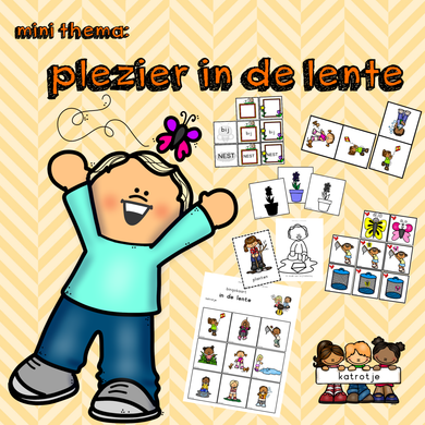 mini thema: plezier in de lente