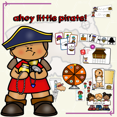 ahoy little pirate