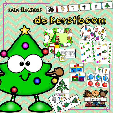 mini thema: de kerstboom