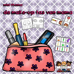 mini thema: de make-up tas van mama