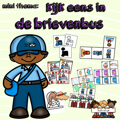 mini thema: kijk eens in de brievenbus