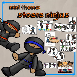 mini thema: stoere ninja