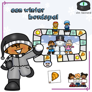 een winter bordspel