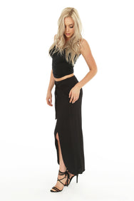 Wide Leg Wrap Pant - bobi Los Angeles
