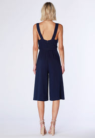 Wrap Culotte Jumpsuit - bobi Los Angeles