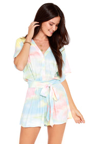 Watercolor Romper